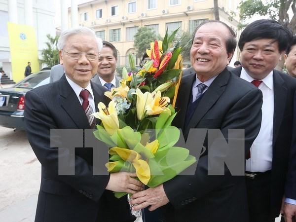Asociacion de Escritores de Vietnam celebra 60 anos de fundacion hinh anh 1