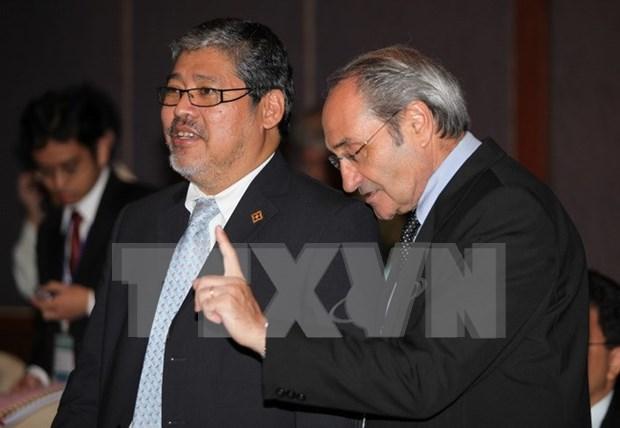 ASEAN y China avanzan en establecimiento de Codigo de Conducta en Mar del Este hinh anh 1