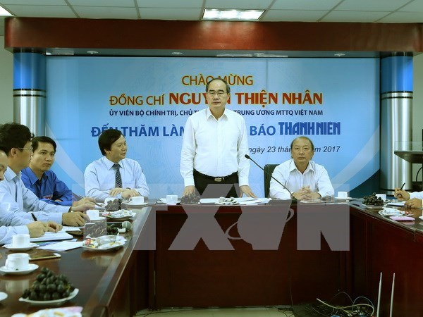 Frente de la Patria de Vietnam participa en la lucha anticorrupcion hinh anh 1