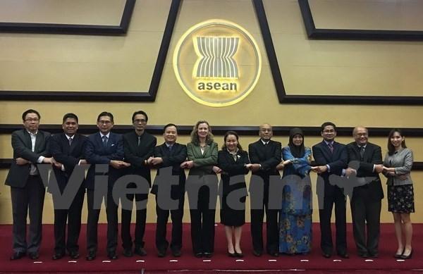 ASEAN y EE.UU. prometen fortalecer asociacion estrategica hinh anh 1
