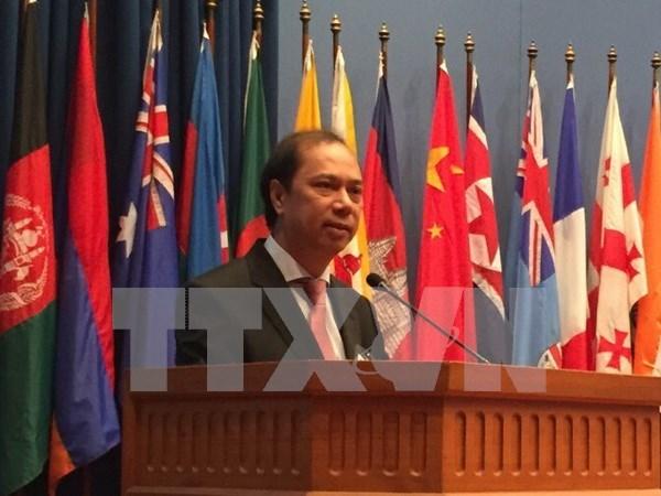 Vietnam contribuyen con varias propuestas para fomentar nexos ASEAN- India hinh anh 1