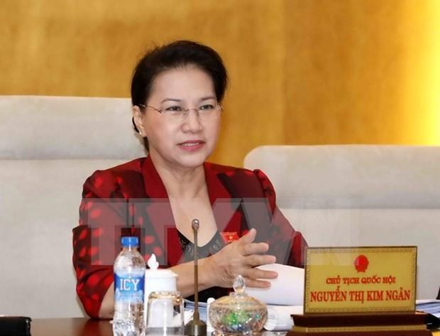Clausuran conferencia de diputados del Parlamento de Vietnam hinh anh 1