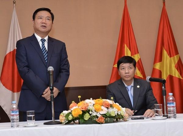 Autoridades de Ciudad Ho Chi Minh promueven comercio e inversion en Japon hinh anh 1