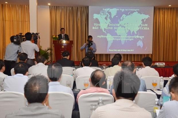 Vietnam se mantiene como uno de los mayores inversores en Camboya hinh anh 1