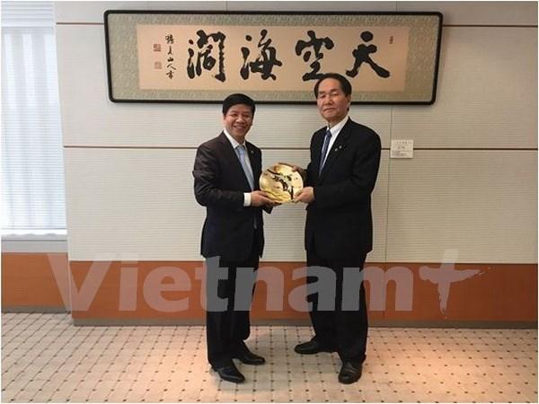 Impulsan cooperacion entre provincias de Vietnam y Japon hinh anh 1