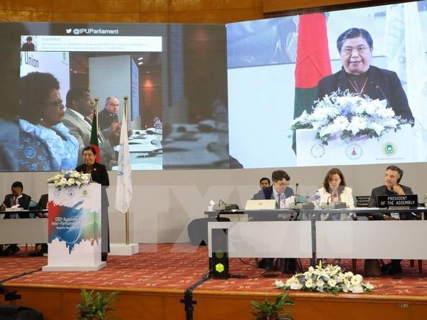 IPU 136 culmina con Declaracion de Dhaka llamando a poner fin a la desigualdad hinh anh 1