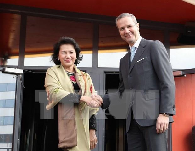 Proponen a Ericsson y Sweco ampliar negocios en Vietnam hinh anh 1