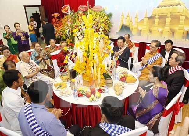 Vietnam estrecha nexos de amistad con Laos hinh anh 1
