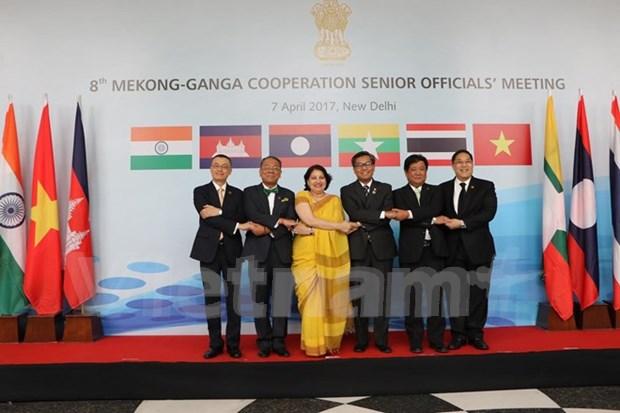 Altos funcionarios de Cooperacion Mekong-Ganges se reunen en Nueva Delhi hinh anh 1