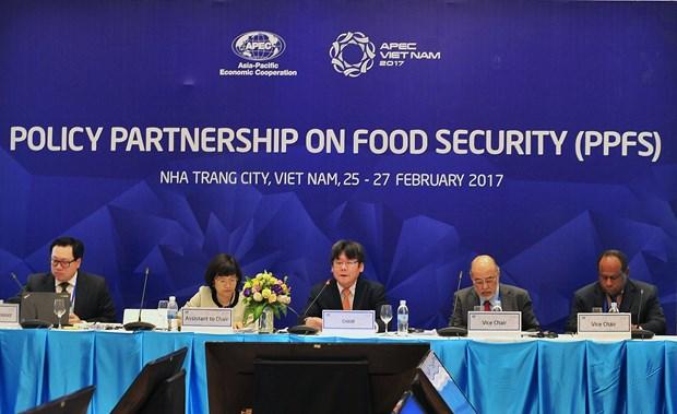 Vietnam con numerosas iniciativas para seguridad alimentaria de APEC hinh anh 1