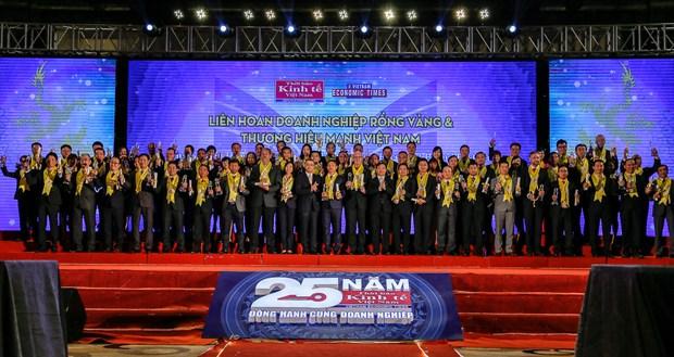 Premian a empresas con mayores contribuciones a la economia vietnamita hinh anh 1