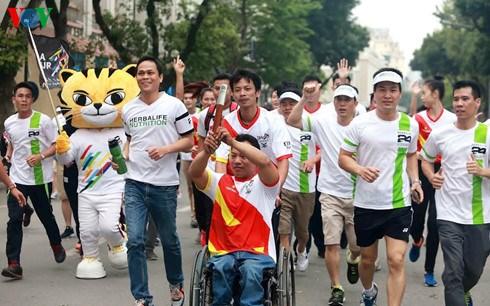 Maraton en Vietnam responde a SEA Games 29 y Para Games 9 hinh anh 1