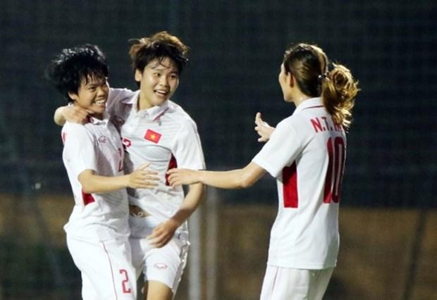 Vietnam vence a Iran por 6-1 en la eliminatoria de la copa asiatica femenina hinh anh 1