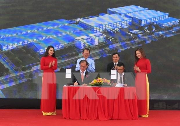 Inician en Vietnam construccion de fabrica de partes automotrices hinh anh 1