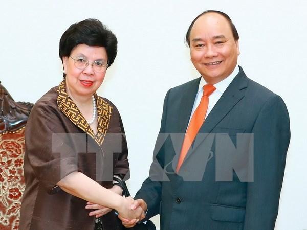 Vietnam aspira a mayor ayuda de Organizacion Mundial de Salud hinh anh 1