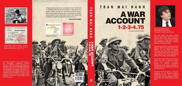 "Publican en ingles novela historica vietnamita ""Un Acta de Guerra 1-2-3-4.75"" hinh anh 1"