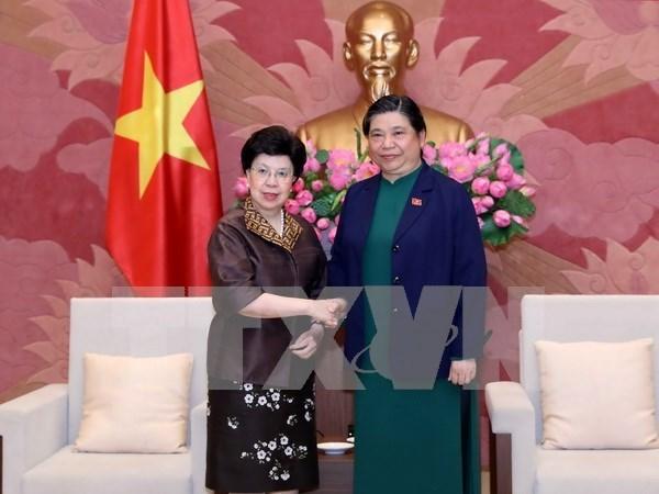 Vietnam aspira a mayor ayuda de OMS en sector de salud publica hinh anh 1