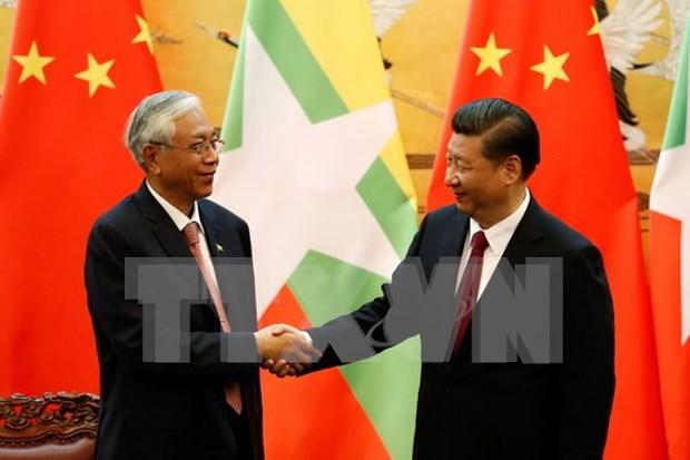 China y Myanmar alcanzan acuerdo sobre proyecto de oleoducto hinh anh 1
