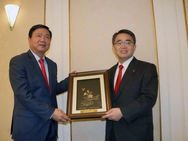 Ciudad Ho Chi Minh y provincia japonesa promueven cooperacion hinh anh 1
