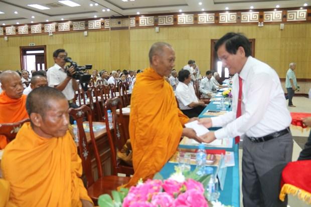Provincia vietnamita sigue ofreciendo apoyo a comunidad khmer hinh anh 1