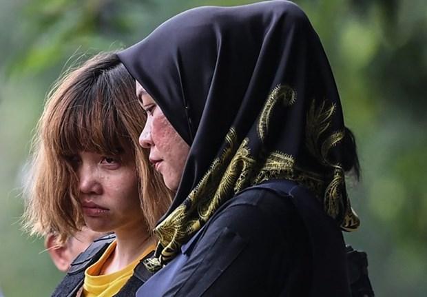 Vietnamita arrestada en Malasia se reune con su padre hinh anh 1