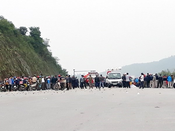 Policia de Ha Tinh emprende proceso legal ante caso de desorden social hinh anh 1