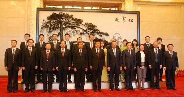 Vietnam y China robustecen colaboracion en labores de prensa hinh anh 1