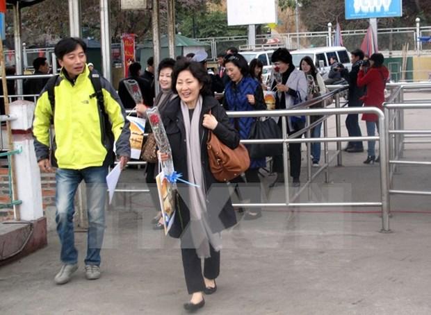 Vietnam recibio a mas de tres millones de viajeros en primer trimestre de 2017 hinh anh 1