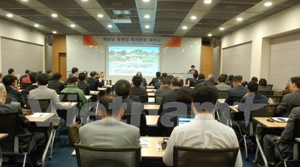 Provincia vietnamita convida a empresas sudcoreanas a invertir en sus proyectos hinh anh 1
