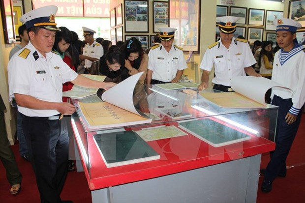 Ostentan en Hai Duong muestras de soberania maritima nacional hinh anh 1