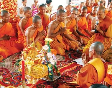 Camboya festeja el Ano Nuevo Khmer hinh anh 1