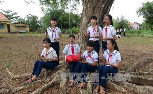 """Vietnam reconoce a canto """"Sac bua"""" como patrimonio intangible nacional hinh anh 1"""