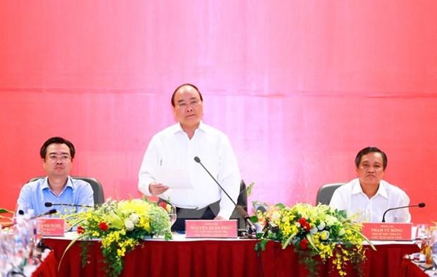 Premier exhorta a Kien Giang a centrarse en desarrollo de zona administrativa y economica hinh anh 1