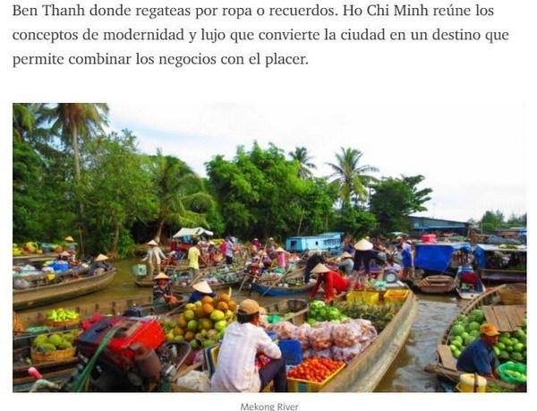 Prensa argentina destaca atraccion de Vietnam para viajeros extranjeros hinh anh 1