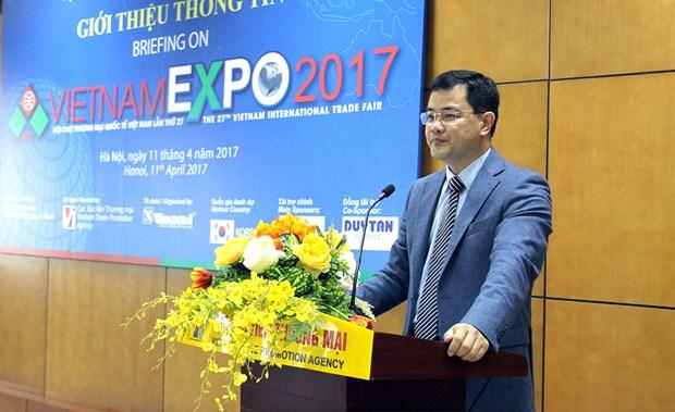 Feria de comercio internacional Vietnam Expo 2017 se efectuara del 19 al 22 de abril hinh anh 1