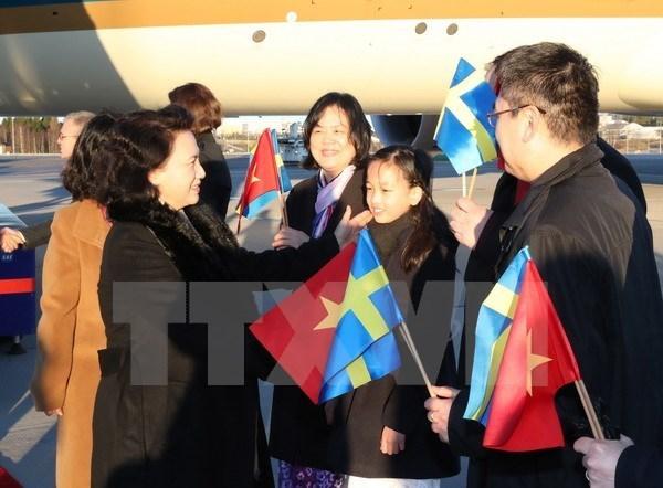 Valoran de exito la gira de presidenta del Parlamento vietnamita por Europa hinh anh 1