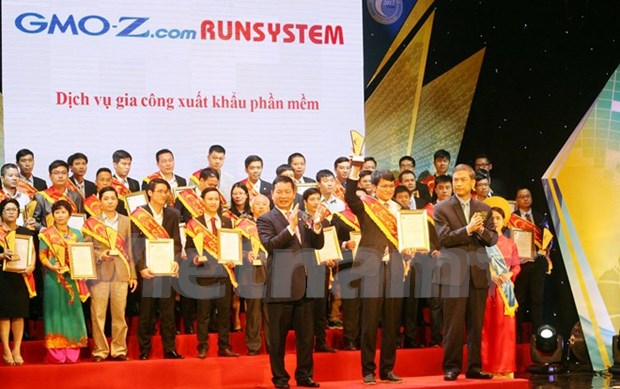 Honran productos ciberneticos ganadores del premio Sao Khue 2017 hinh anh 1