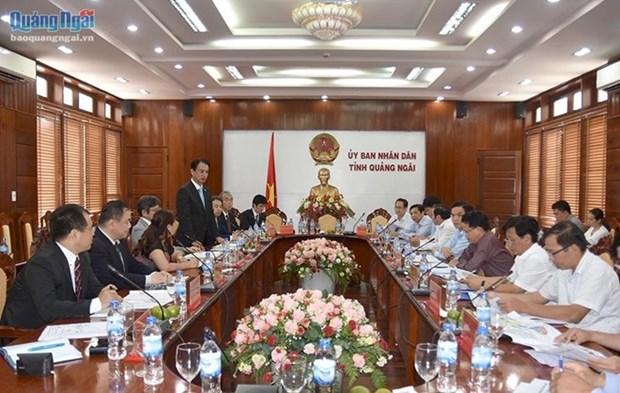 Empresa japonesa construira planta de energia en provincia centrovietnamita hinh anh 1