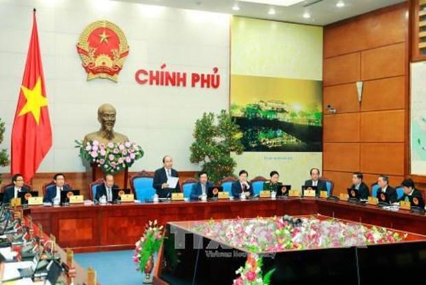 Gobierno vietnamita emite resolucion sobre perfeccionamiento de leyes hinh anh 1