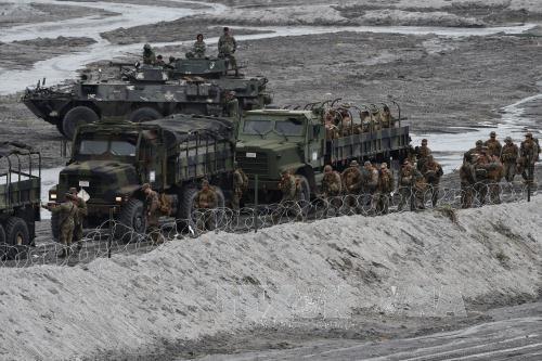 Filipinas y EEUU realizaran maniobras conjuntas en mayo hinh anh 1