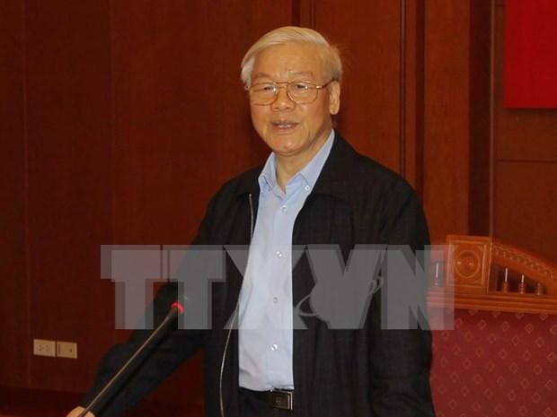 Secretario general del PCV exhorta a mayor coordinacion en lucha anticorrupcion hinh anh 1