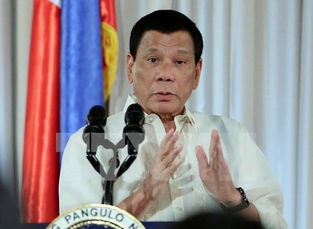 Qatar y Filipinas firman 13 acuerdos comerciales hinh anh 1