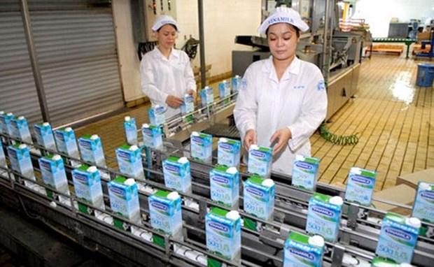 Vinamilk proyecta ingresos de 2,2 mil millones de USD en 2017 hinh anh 1