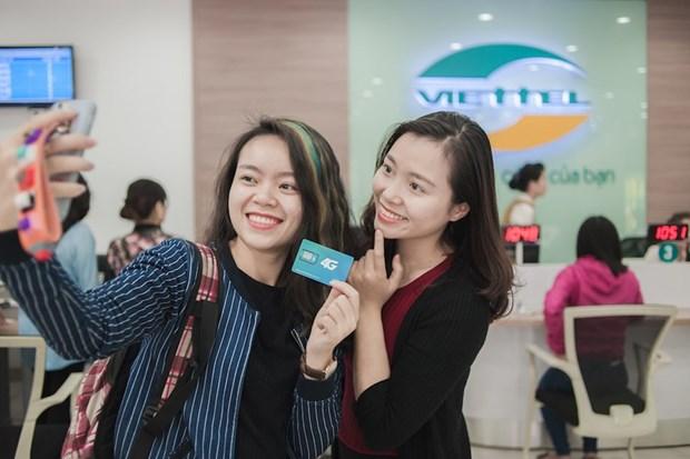 Viettel inaugura primera red 4G en Vietnam hinh anh 1