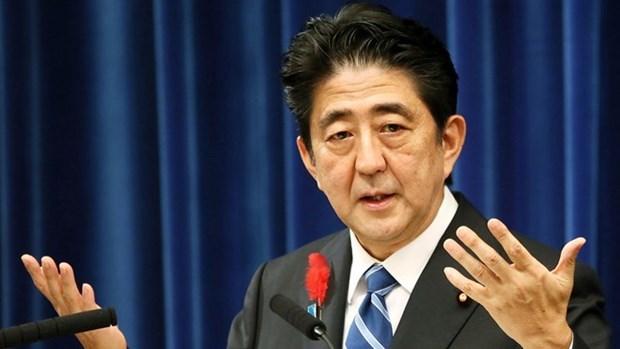 Premier Abe envia condolencias a familia de nina vietnamita asesinada en Japon hinh anh 1