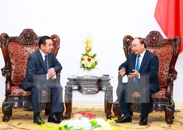 Premier vietnamita propone impulsar cooperacion con Mongolia en turismo y trabajo hinh anh 1