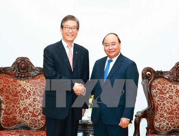 Premier de Vietnam recibe a ejecutivo del banco sudcoreano KDB hinh anh 1