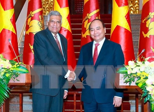Vietnam y Sri Lanka ratifican determinacion de elevar el nivel de sus nexos hinh anh 1