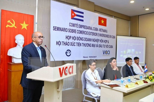 Vietnam y Cuba poseen gran potencialidad de cooperacion comercial hinh anh 1