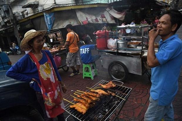Eliminaran en Bangkok puestos de comida callejera hinh anh 1